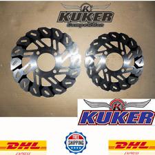 Honda Grom msx125 2013 - 2019 Kuni Front+Rear Brake Disc+DHL Express 3- 5 Day