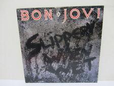 Bon Jovi- Slippery When Wet (Mercury,1986) Vinyl LP  EX