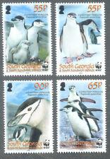 Falkland islands-South Georgia-Birds-Chinstrap Penguin set mnh -2008