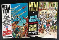 METAL HURLANT - LOT DE 2 N°65 ET 66 - 1981 - ETAT NEUF
