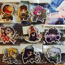 League Of Legends Champion Keychains Acrylic Can Choose (US Seller)