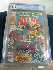 NOVA # 11 1977 CGC 9.4  Key Issue app. Sphinx/Powerhouse Marv Wolfman/Giacoia