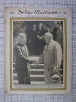 The War Illustrated #213 (Kamikaze Tarakan, Churchill, Reichstag Berlin, Pétain)