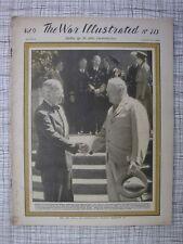 The War Illustrated #213 (Kamikaze Tarakan, Churchill, Pétain, Reichstag Berlin)