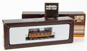 Vintage Marklin Mini-Club 8851 German Z Scale Electric Locomotive 10460