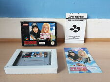 Wayne's World SNES Complete Rare