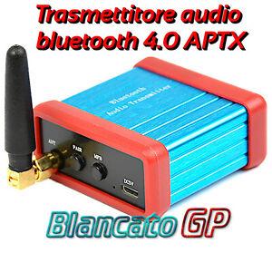 Trasmettitore bluetooth 4.0 APT-X adattatore interfaccia per altoparlanti cuffie