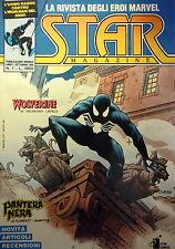 STAR MAGAZINE n. 1 ( IRON MAN/UOMO RAGNO/WOLVERINE/PANTERA NERA) ed. STAR COMICS