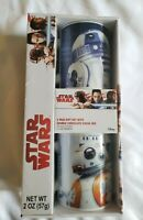 Disney Star Wars R2D2 & BB8 Mug Coffee Cup Gift Set with Chocolate Hot Cocoa Mix