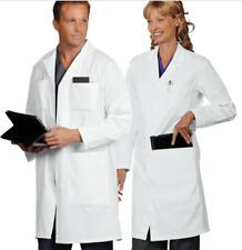 6 Pocket Unisex Consultant, Lab Coat Knee Length Walter Reed Bethesda Logo Small