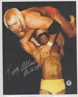 Mr Tony Atlas WWE USA HOF Autograph with COA WWF Wrestling Signed Photo