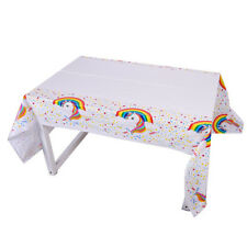 "♛ Shop8 : UNICORN Plastic Table Cover 54*72"" Party Needs"