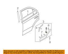KIA OEM 03-06 Sorento REAR DOOR-Body Side Molding Bolt 877343E000