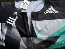 Adidas Mens AZ SS PU SUIT Track and Field Singlet Speed Skinsuit (SZ XL)