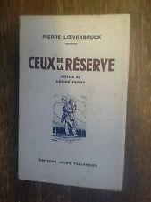 Ceux de la réserve en campagne avec le 269e d'infanterie Pierre Loevenbruck