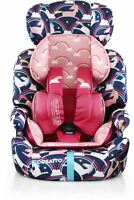 Cosatto ZOOMI GROUP 123 ANTI-ESCAPE CAR SEAT - MAGIC UNICORNS Baby Travel BN