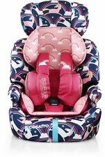 Cosatto Zoomi Car Seat Group 123 9-36 Kg Magic Unicorns