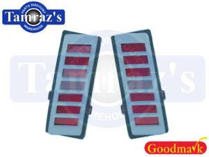70-72 Chevelle Rear Side Marker Lamp  -  Pair New Goodmark