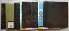 Lindner Multi Collect Feuilles Noir 4-Ring 1311-1334 Total 63Stück