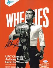 Anthony Pettis Signed UFC 11x14 Photo PSA/DNA COA Wheaties Box Picture Autograph