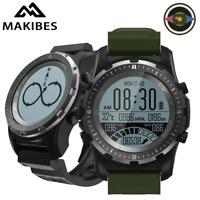 Makibes BR2 GPS Compass Speedometer Sport Watch Bluetooth HIKING Multi-sport fit