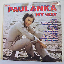 "33T Paul ANKA Disque LP 12"" MY WAY - DIANA - GOODNIGHT MY LOVE - RCA CAMDEN 1134"