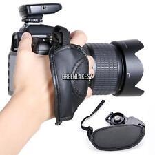 Camera Hand Grip SLR/DSLR Leather Wrist Strap For Canon EOS Nikon Sony GRLN