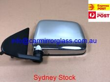 NEW DOOR MIRROR FOR NISSAN NAVARA D21 1986-1997 RIGHT DRIVER SIDE (CHROME)