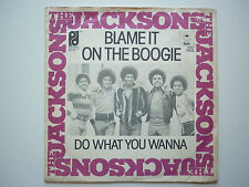 The Jacksons 45Tours SP vinyle Blame It On The Boogie