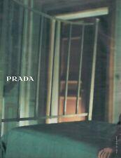 ▬► PUBLICITE ADVERTISING AD PRADA 2 pages 1997