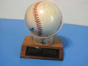 Barry Bonds Signed Baseball