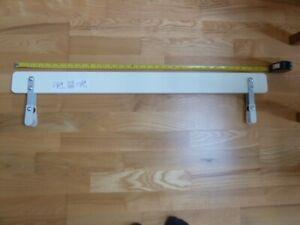 Ikea VIKARE child/toddler/kids bed guard/rail. 90x8cm. Used, white. 1 of 2.