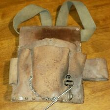 Craftsman Leather Electrician/Carpenter Utility Tool Pouch