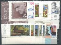 Germany 1996 Mi. 1883-1894 MNH 100% Botanist, Music, Writer