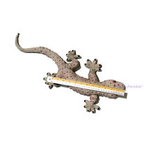 Realistic Giant Rubber Gecko Toy Fake Lizard Reptile Funny Decorate Animal Props