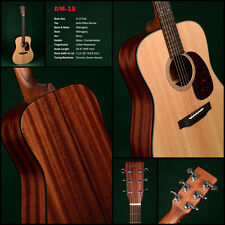 SIGMA GUITARS- Gitarre DM-18  + massiver Fichtendecke  AUSSTELLER / UVP: 450.--€