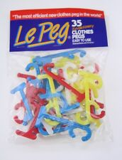 Le Peg - Laundry Pegs Clothes Pegs Clothes Clips Pack of 35  Revolutionary