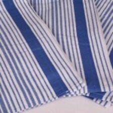 10 x Large Catering Standard Blue Striped  Kitchen Tea Towels  Heavier 110g Each