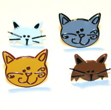 CAT  BRADS ** FREE SHIPPING OFFER ** 8 PCS * EYELET OUTLET** 4 COLORS **