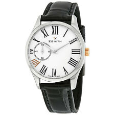 Zenith Captain Ultra Thin Stainless Steel Ladies Watch 03.2302.681/33.c714