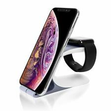 Charger Stand Holder Charging Dock Station for iWatch and Cell Phone Tablet US