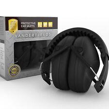 Vanderfields Foldable Earmuffs Headphones Shooting Noise Safety Ear Protection