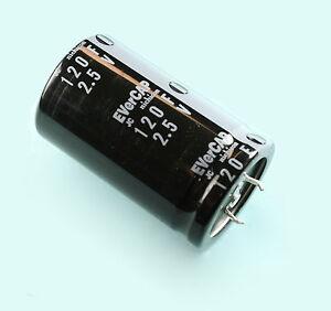 2.5v 120F Nichicon JC Evercap Super Ultra capacitor 2.5 Volts 120 Farad