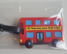London Bus Holiday Luggage Tag