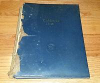 1948 Nashville High School The Nahiscoan Nashville North Carolina Yearbook