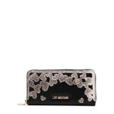 Love Moschino Designer Black Wallet Purse