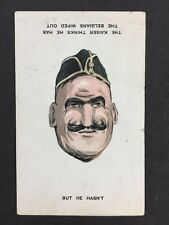 More details for very rare unusual card: military: #m347: kaiser : flip upside down faces