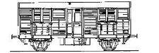 Parkside Dundas PC67 - GWR 'Beetle' Prize Cattle Wagon         00 Gauge