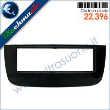 Mascherina supporto autoradio ISO Fiat Punto EVO (dal 2009) colore nero lucido