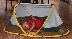 Kidco Peapod Travel Bed in Sunshine (Yellow) Brand New!! P3011